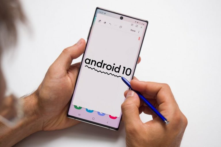 Note 10 riceve Android 10