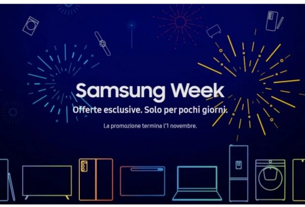 Al via la Samsung Week