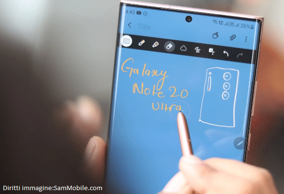 Galaxy Note vicino alla fine